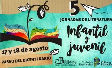 Vº Jornadas de literatura infantil y juvenil en Reconquista
