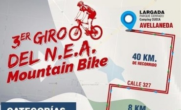 3er Giro del N.E.A de Mountain Bike en Avellaneda