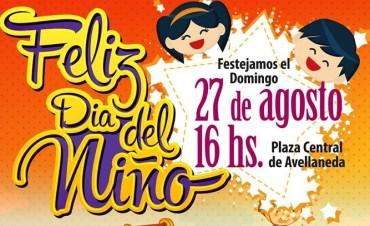 Festejo del Dia del Niño en Avellaneda