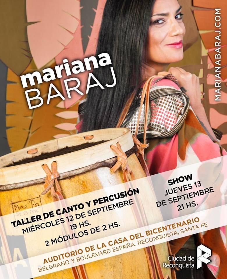 Mariana Baraj llega a Reconquista