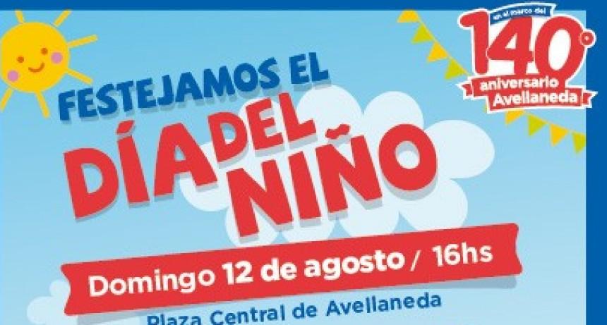 Avellaneda celebrara el Día del Niño
