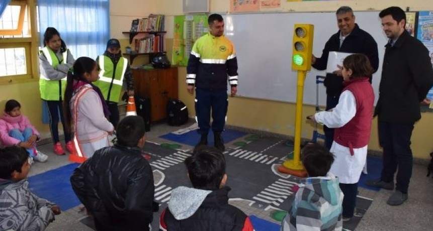 Educación vial en escuelas de Avellaneda