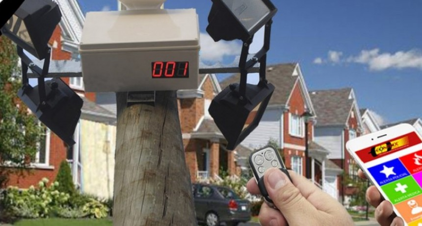 Capparelli propone un sistema municipal de alarmas comunitarias