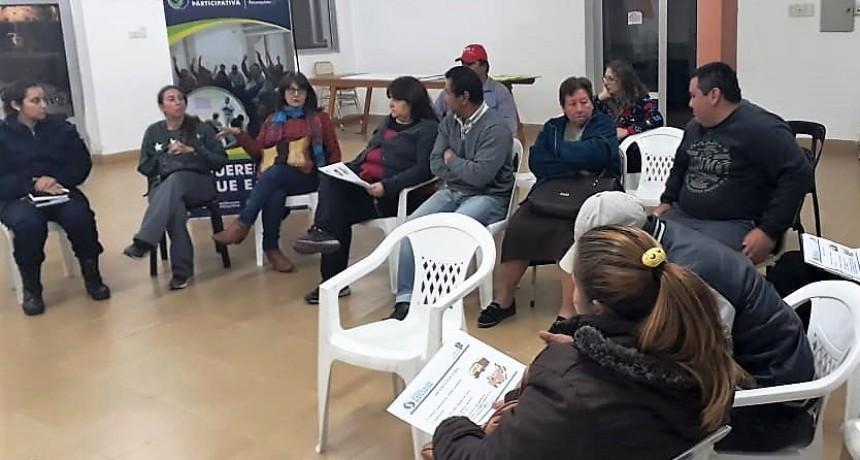Planificación Participativa en barrios América y Velódromo