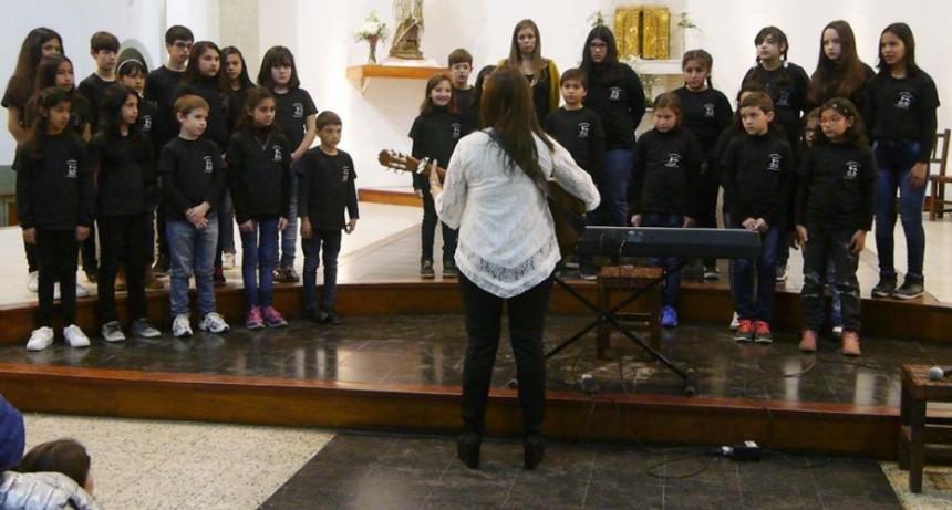 El Coro de Niños se presentó en Villa Carlos Paz