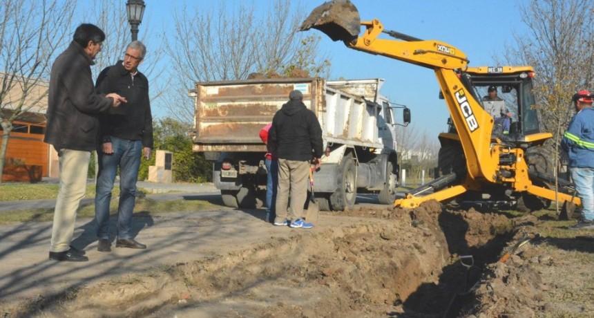 Avanza el plan de pavimentación en Avellaneda