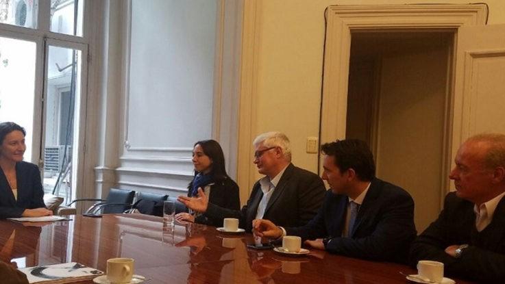 Zorzón estuvo reunido con autoridades nacionales