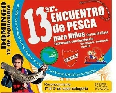 13° Concurso de Pesca para niños