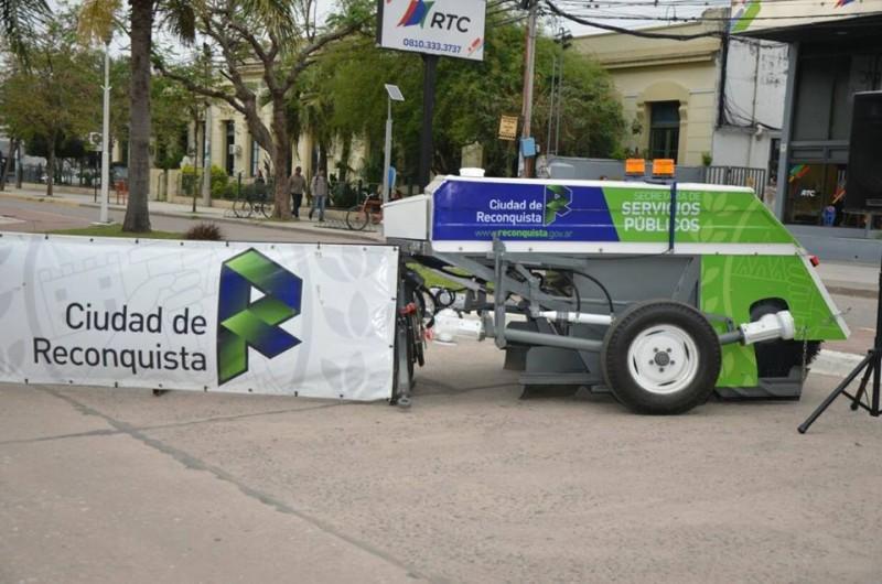 Nuevos equipamientos para Reconquista