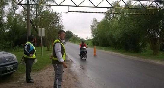 Controles de tránsito durante el fin de semana en Reconquista