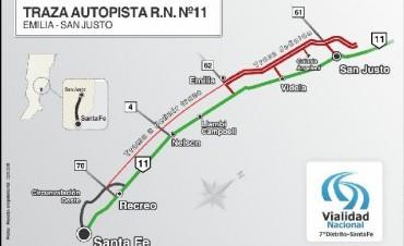 Autopista por Ruta 11, solo un proyecto