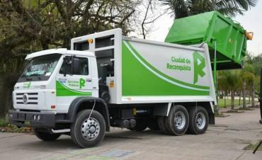 Nuevos rodados para la recolección de residuos en Reconquista