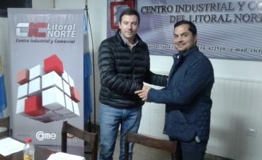 Nueva comisión directiva del Centro Industrial y Comercial de Reconquista