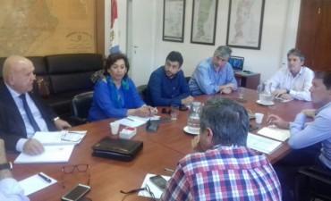 Concejales del Frente Progresista se reunieron con el Ministro de Infraestructura