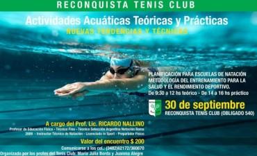 Capacitación en Natación en el Tenis Club Reconquista