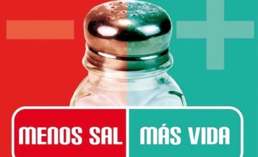 """""""Menos sal, más vida"""""""