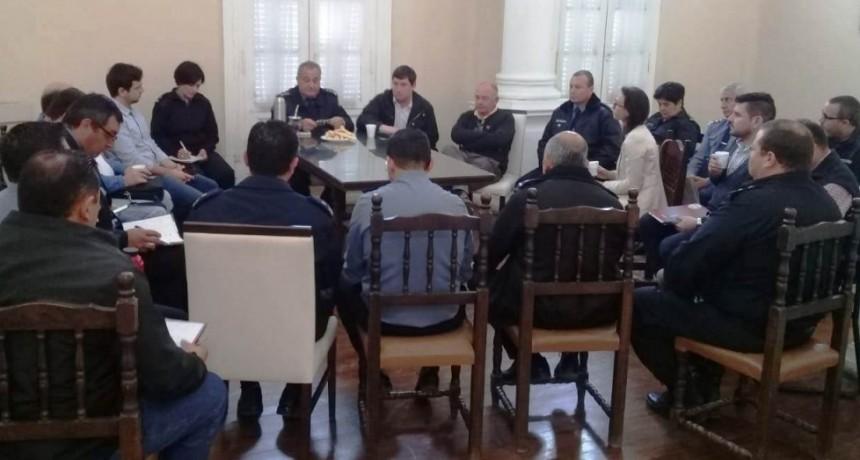 Reunión con fuerzas de seguridad: eventos privados y seguridad vial