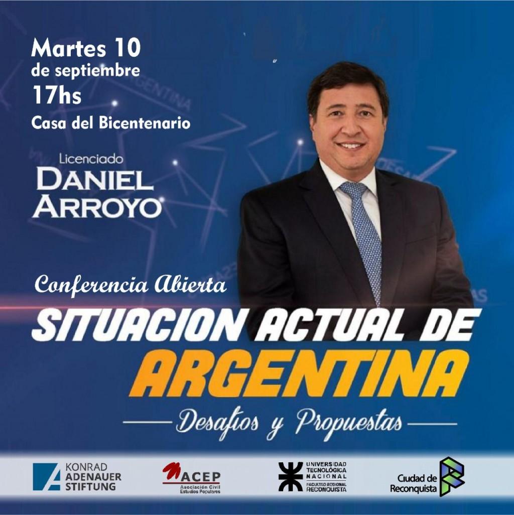 """""""Situación actual de la Argentina: desafíos y propuestas"""""""