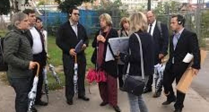 Vallejos realiza gestiones en Alemania para nuestra ciudad