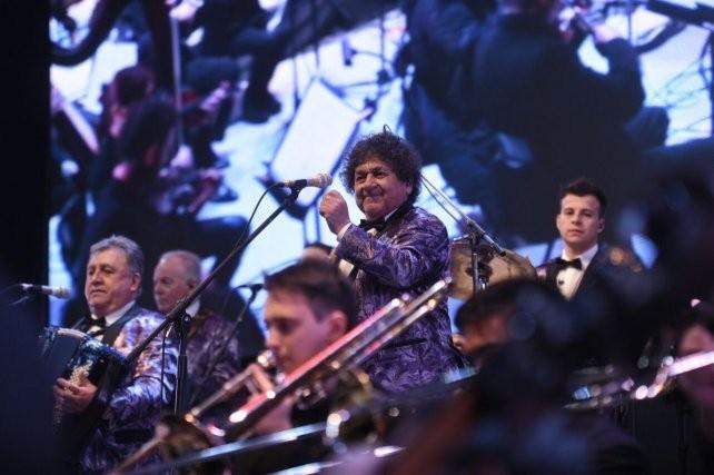 Los Palmeras sinfónicos, show gratuito para toda la región