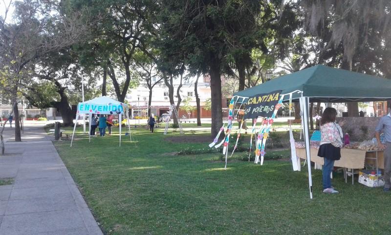 Jornada lúdica organizada por la Escuela Bernardino Rivadavia