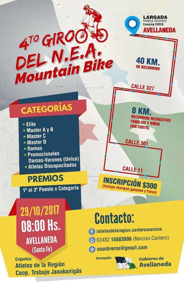 El Mountain Bike llega a Avellaneda con su 4º giro