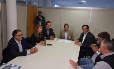 Convenio entre la provincia y el municipio para reparación del Puente en Barros Pazos