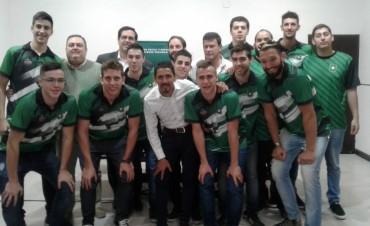 Lanzamiento del equipo de básquet de Platense Porvenir