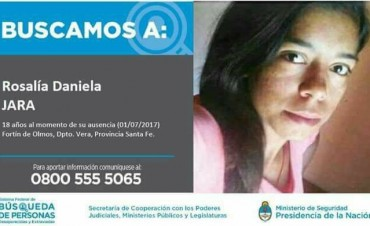 ¿Dónde está Rosalía Jara?