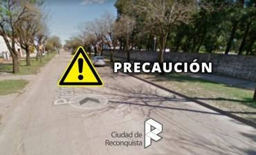 Trabajos en calle Pietropaolo entre calles 38 y 40 de Reconquista