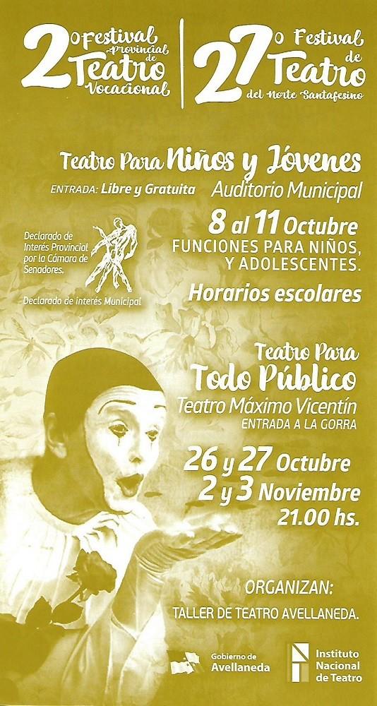 Teatro para todo público en Avellaneda