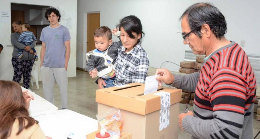 Elecciones vecinales: diez listas se presentaron al segundo llamado