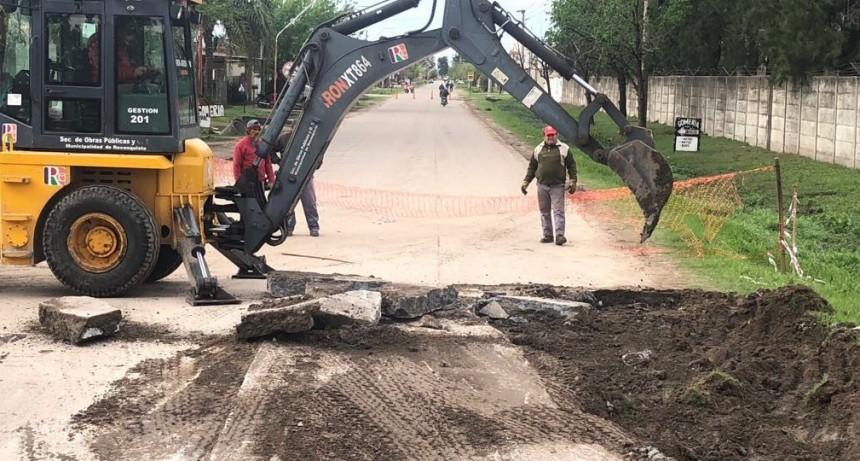 Reparación en Olessio y Calle 59