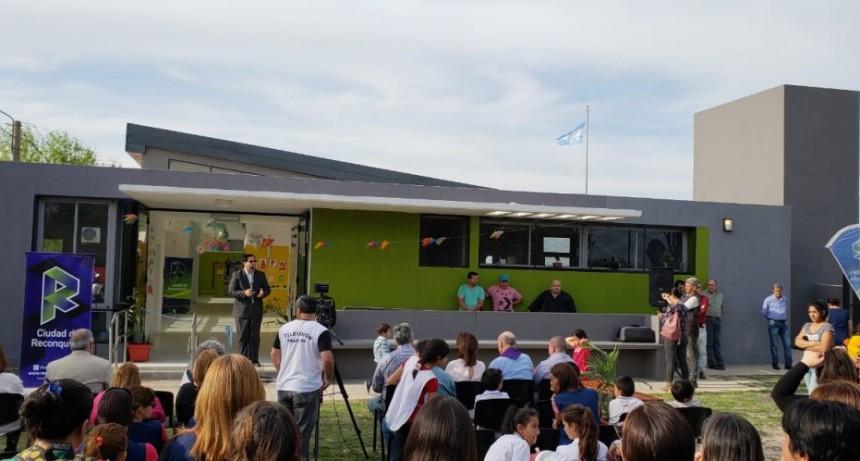 Inauguración del Centro de Acción Familiar de Barrio Ombusal