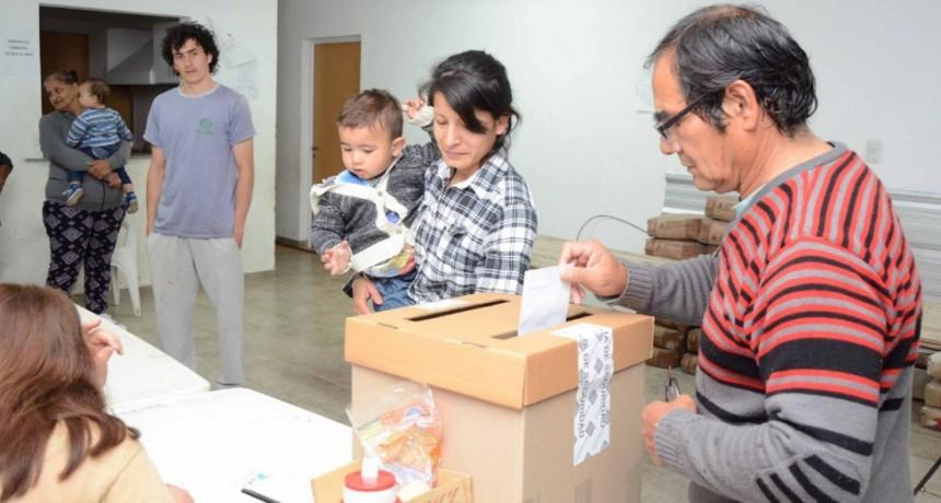 Listas oficializadas y fechas de las Elecciones Vecinales 2018