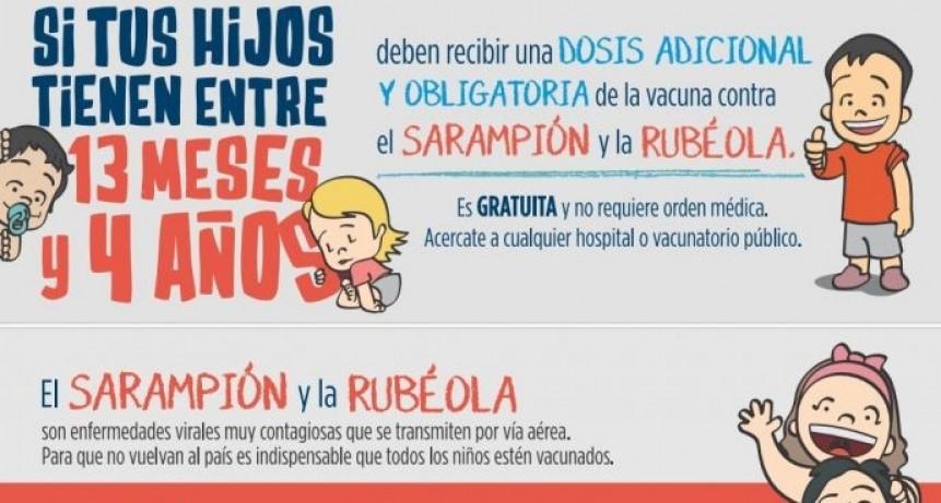 Campaña de vacunación contra la rubeola y el sarampión