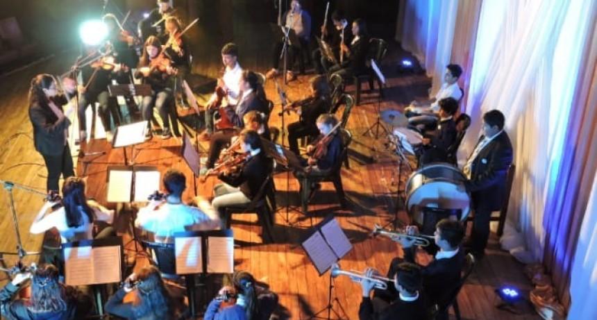 La Orquesta Infanto – Juvenil se presentó en Ituzaingó