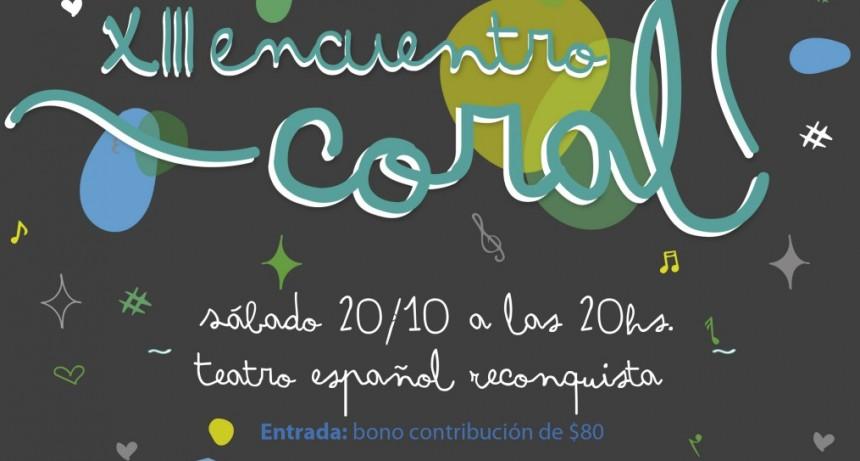 XIII Encuentro Coral en Reconquista