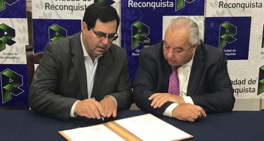 Convenio entre la Municipalidad de Reconquista y la Corte Suprema de Justicia de la Provincia de Santa Fe