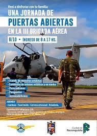 Jornada de Puertas Abiertas en la III Brigada Aérea