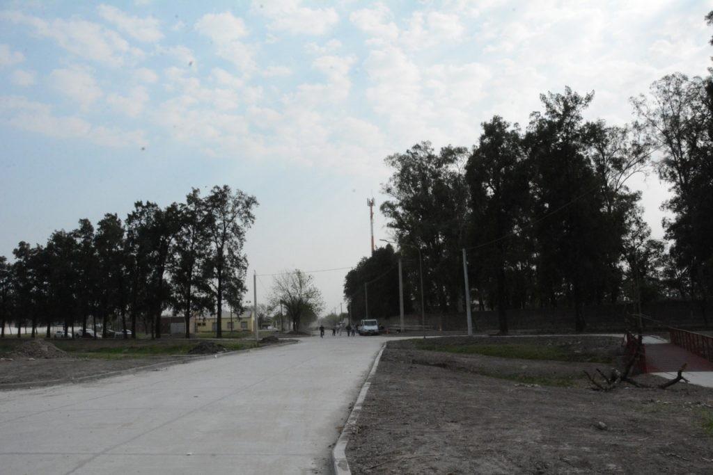 Importantes obras en el sector noreste de Avellaneda