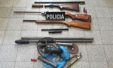Secuestraron 7 tumberas en Barrio Guadalupe de Reconquista