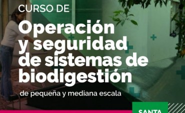 Capacitación en operación y seguridad en biodigestores en Reconquista