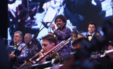 Los Palmeras sinfónicos, show gratuito en el Complejo La Estación