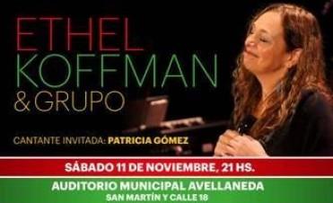Ethel Koffman presenta su show en Avellaneda