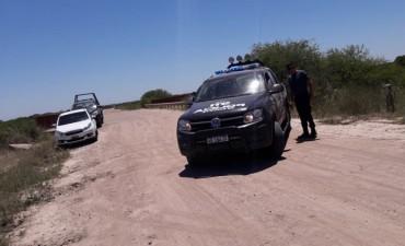 Hallan bolsas con restos óseos en el Arroyo El Toba