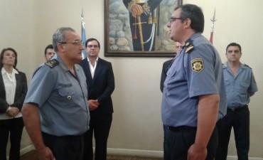 Nuevo Jefe de la Agrupación de Unidades de Orden Público