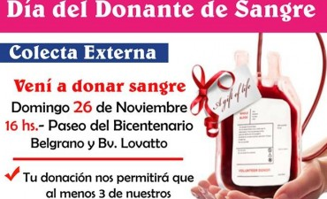 Jornada de Donación Voluntaria de Sangre en Reconquista