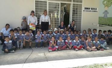 Educación vial en jardines de infantes y escuelas