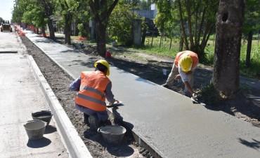 Remodelación de Calle 21 en Avellaneda